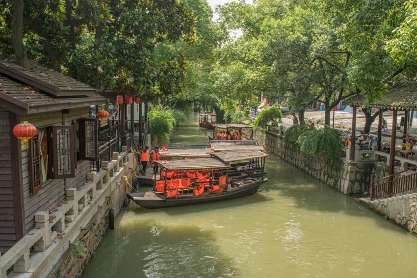 Suzhou Wasserstadt Mudu Kanal