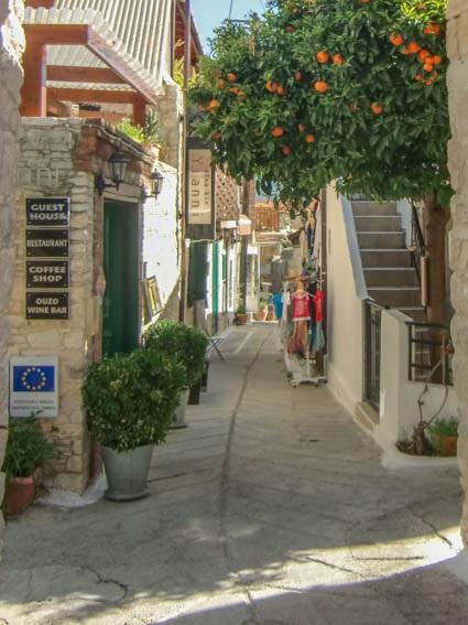 Zypern Tipps Omodos Gasse