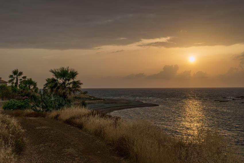 Zypern Tipps Pomos Sonnenuntergang