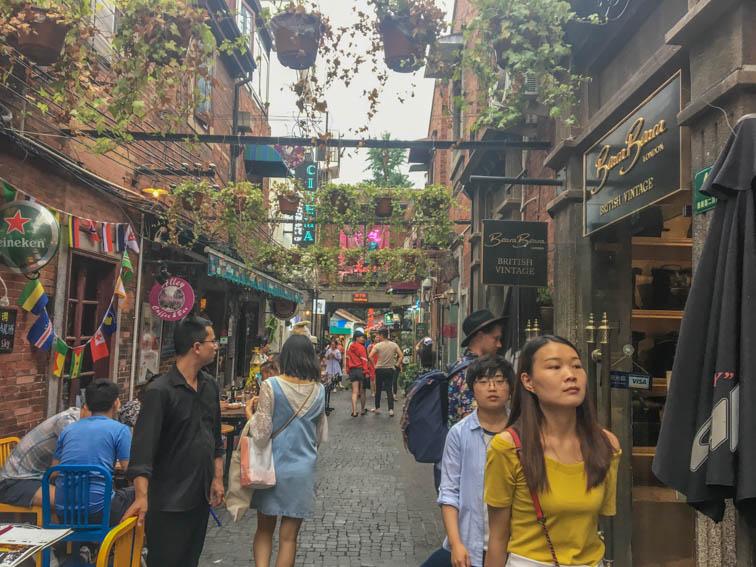 Shanghai Tianzifang 1