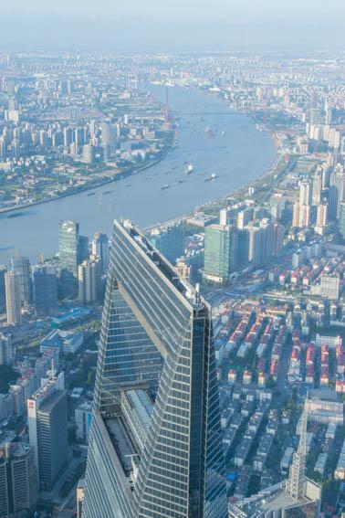 Shanghai Tower Ausblick 2
