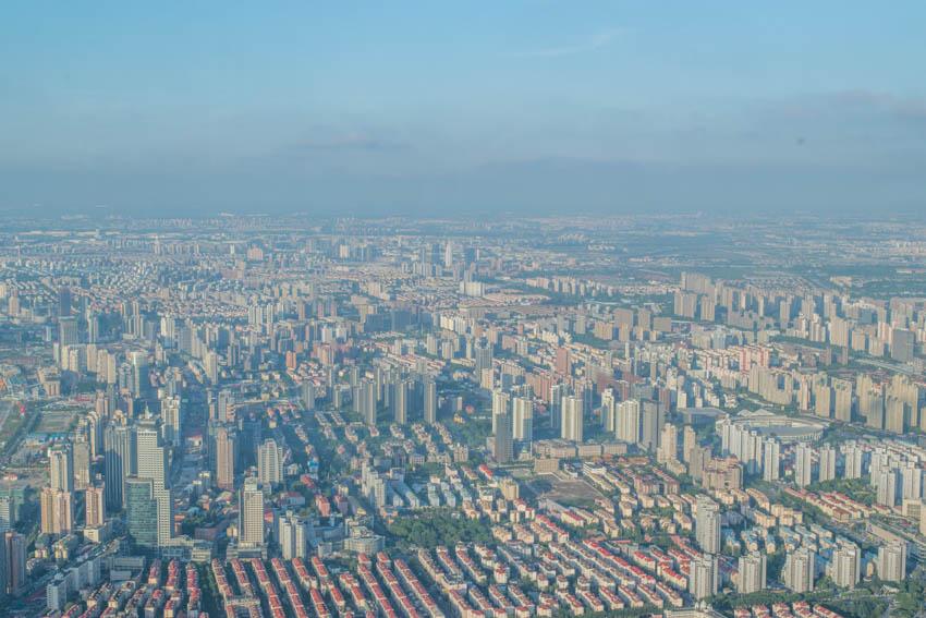 Shanghai Tower Ausblick