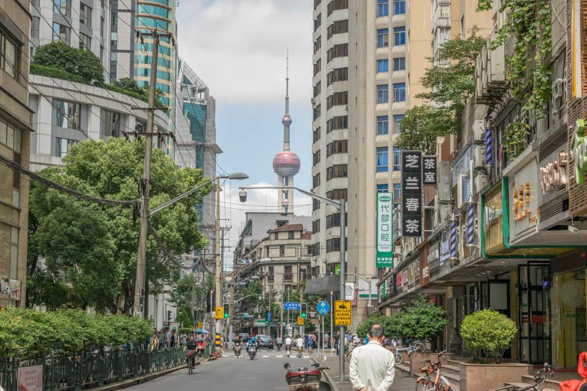 Shanghai mit Oriental Pearl Tower