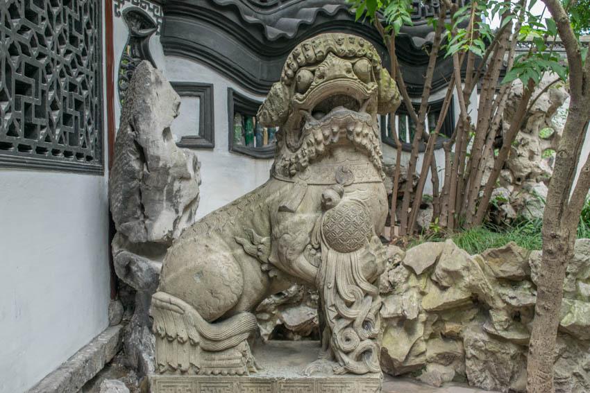 Yu-Garten Figur Shanghai