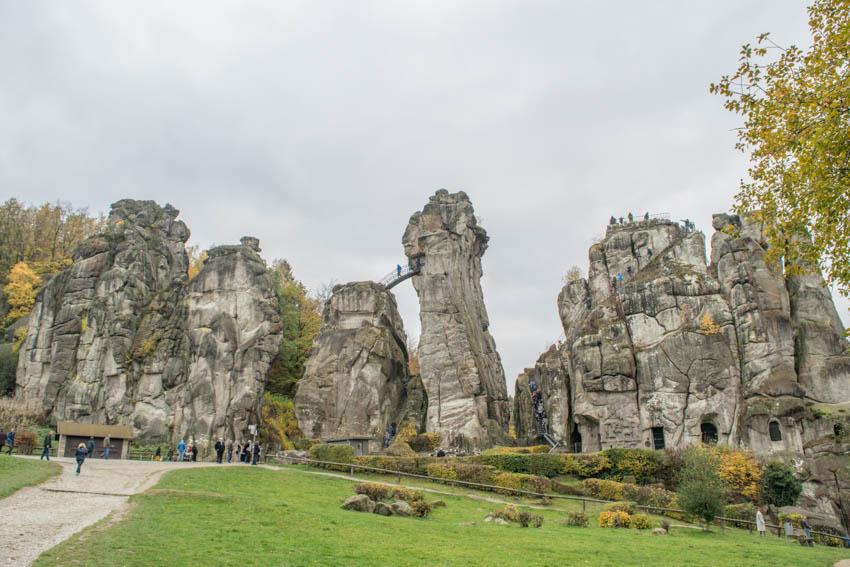 Ausflugstipp für Familien: Die Externsteine im Teutoburger Wald