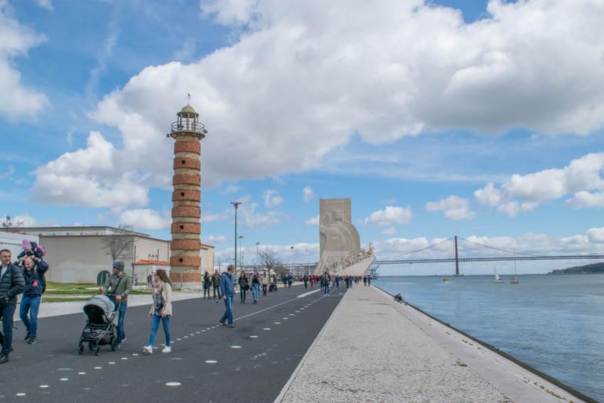 Lissabon Belem Leuchtturm