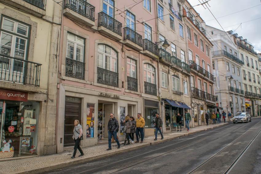 Lissabon Shoppen Chiado