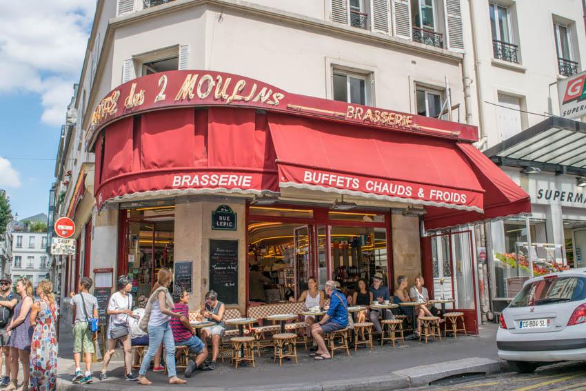 Montmartre Amélie Café des 2 Moulins