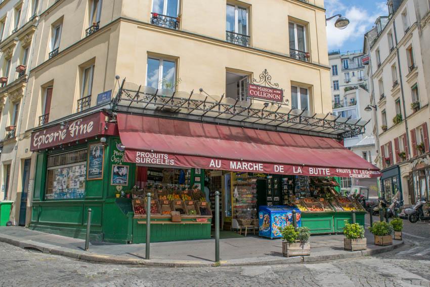 Montmartre Amélie Marche de la Butte