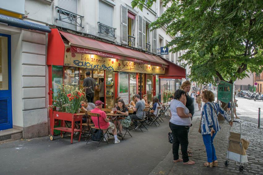 Montmartre Boulangerie Coquelicot