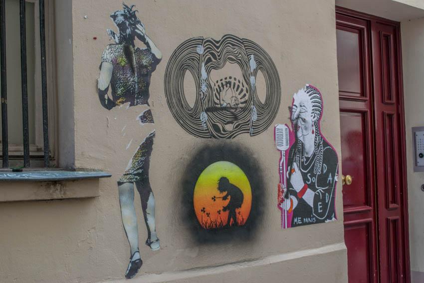 Montmartre Street Art 1