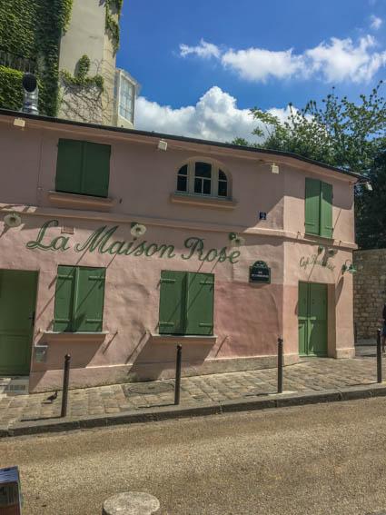 Montmartre Treiben lassen