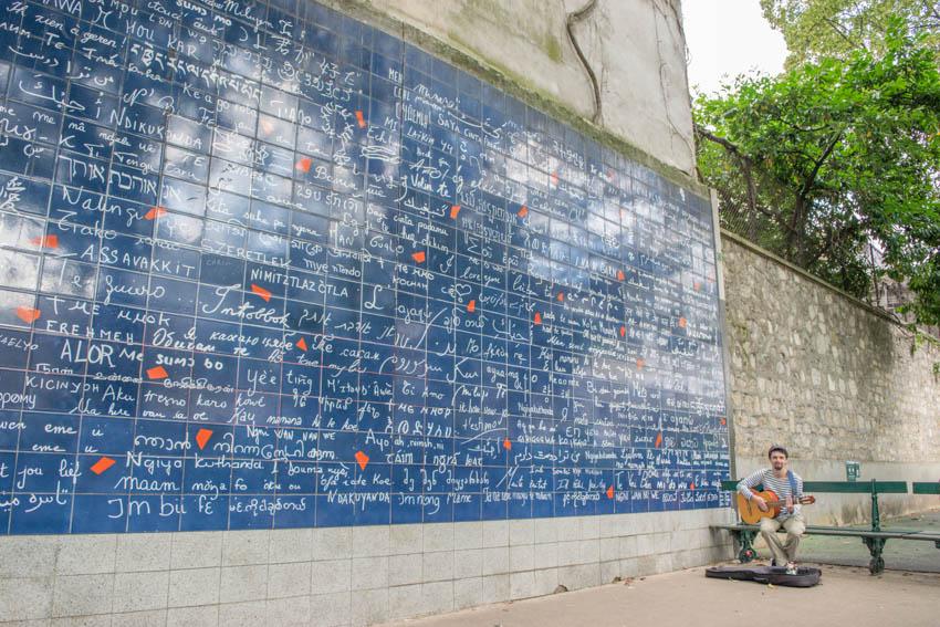 Tipps für Montmarte Mur des je t'aime