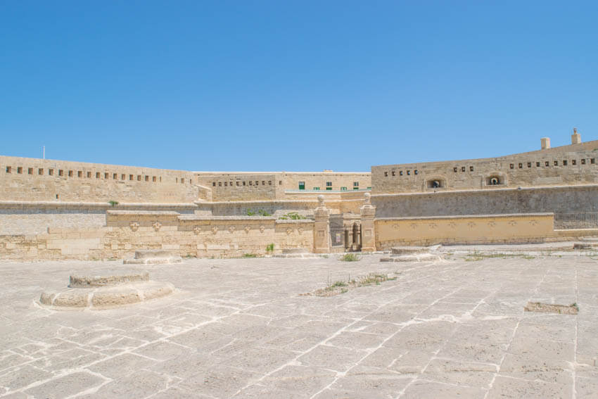 Unterwegs in Maltas Hauptstadt Valletta - Fort St. Elmo