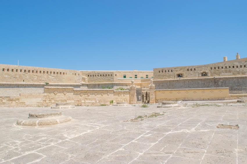 Unterwegs in Maltas Hauptstadt Valletta - Fort St. Elmo
