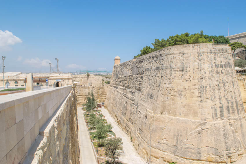 Valletta Stadtmauer