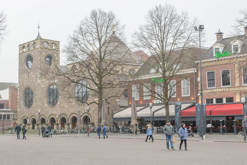 Shopping in Enschede Fußgängerzone