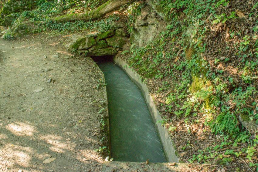 Bewässerungsgraben