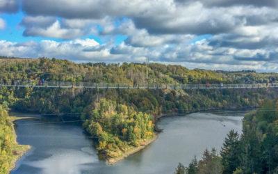 Die längste Hängeseilbrücke in Deutschland