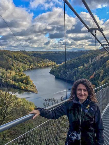 Hängeseilbrücke Sabine