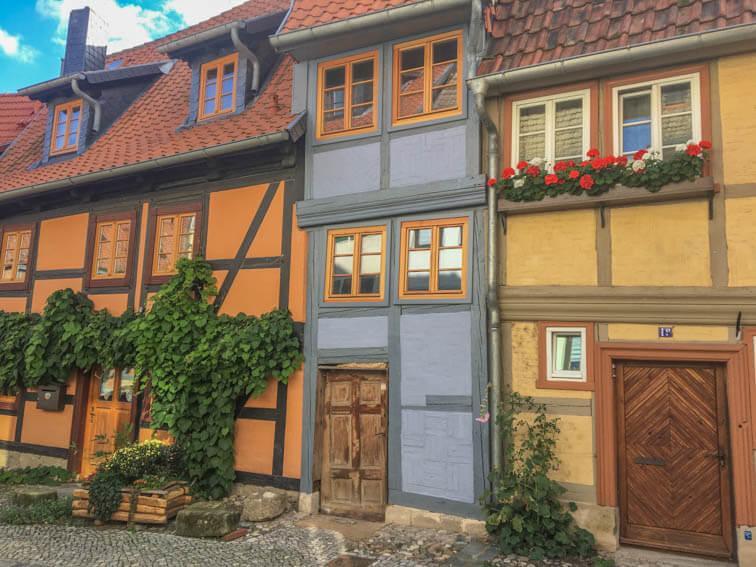Fachwerkhäuser Schlossberg