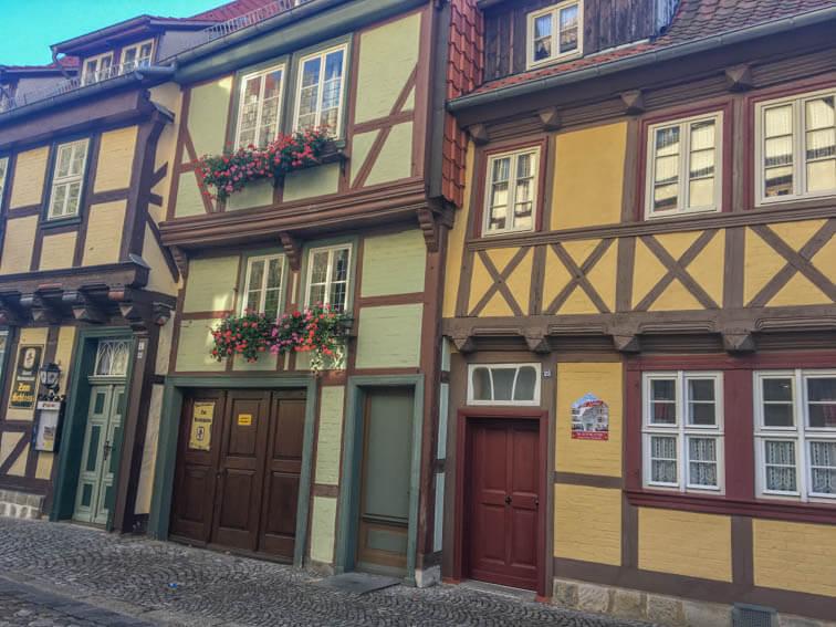Häuser Quedlinburg